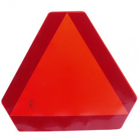 Sticker driehoek langzaam verkeer
