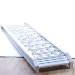 Oprijplaat 2500kg los aluminium