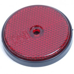 Reflector rond 60mm rood