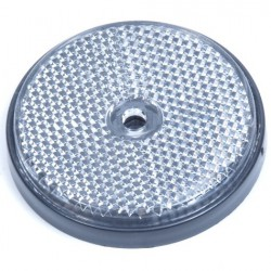 Reflector rond 60mm wit