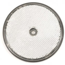 Reflector rond 80mm wit