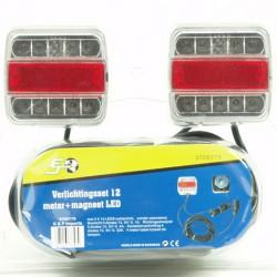 Verlichtingsset LED magneet 12 meter