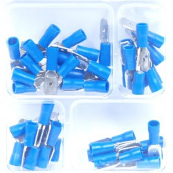 Kabelschoenen man blauw