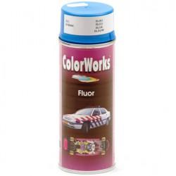 Verf fluor blauw Colorworks