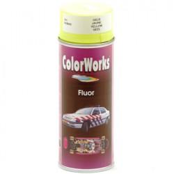 Verf fluor geel Colorworks