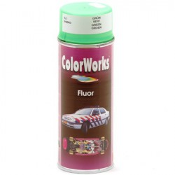 Verf fluor groen Colorworks