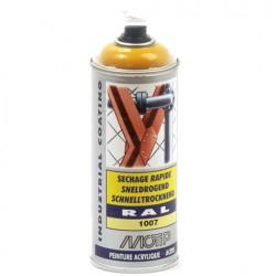 Verf geel ral 1007 industrial coating Motip