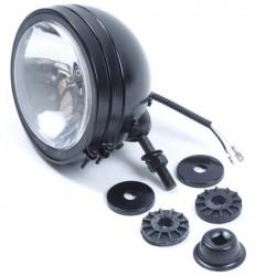 Verstraler zwart 150mm