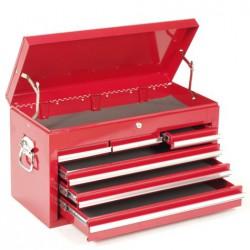 Opzetkist voor gereedschapswagen 6 laden rood