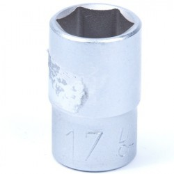 Losse dop 17 mm 1/2 inch